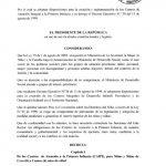 Decreto Ejecutivo No 107