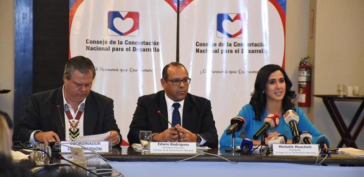 Consejeros de la Concertación Nacional para el Desarrollo (1)