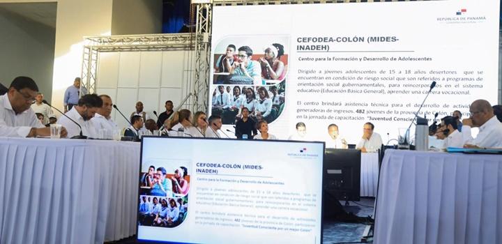 MIDES anuncia en Colón (4)