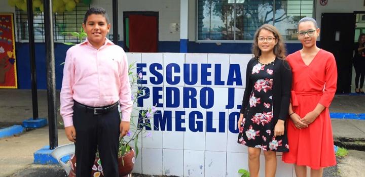 MIDES recibe visita de estudiantes de puestos distinguidos de la Escuela Pedro, 2019 (4)