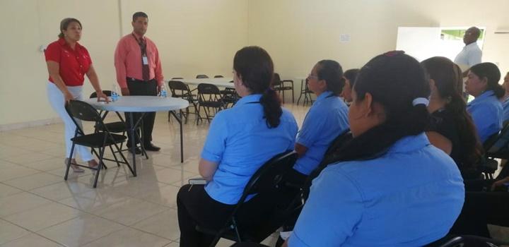 Secretaria General visita Los Santos (1)