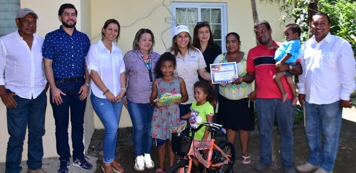 Gobierno Nacional realiza adecuaciones de viviendas a familias en la Provincia de Chiriquí (13)