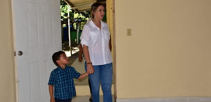 Gobierno Nacional realiza adecuaciones de viviendas a familias en la Provincia de Chiriquí (5)