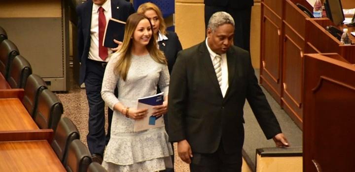 MIDES presenta informe de la Memoria Institucional ante el Pleno de La Asamblea Nacional (2)