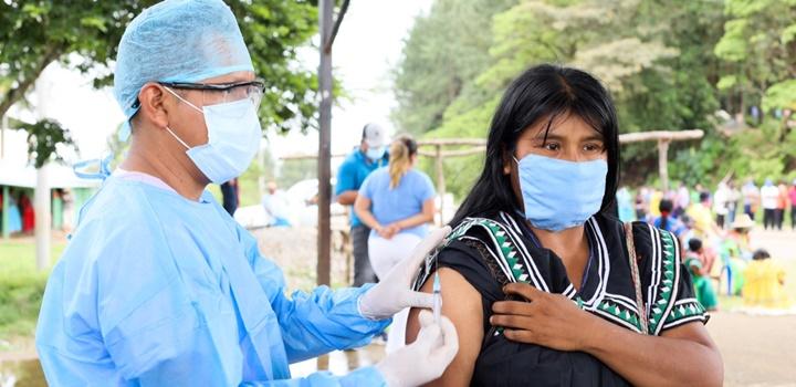 Beneficiarios de los Programas de Transferencias Monetarias fueron vacunados contra la influenza (7)