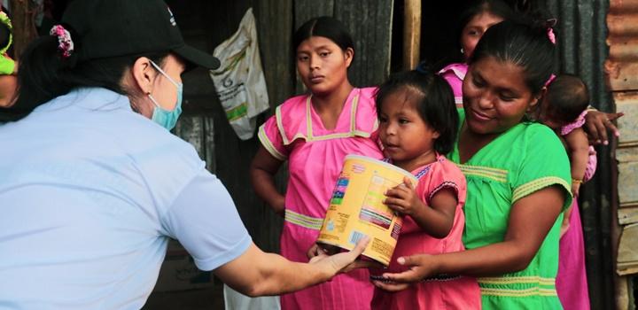 Mides entrega formulas infantiles en Azuero y Veraguas (8)