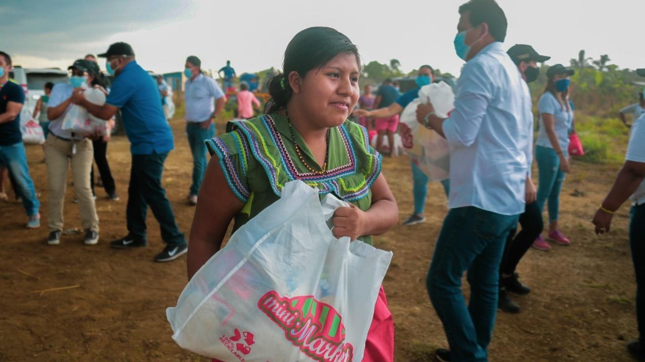 Mides entrega formulas infantiles en Azuero y Veraguas (9)